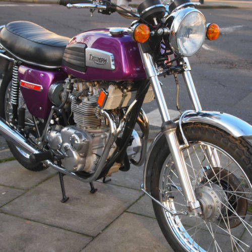 1975 T150V Trident Fully Restored 'Amazing' SOLD (picture 1 of 6)