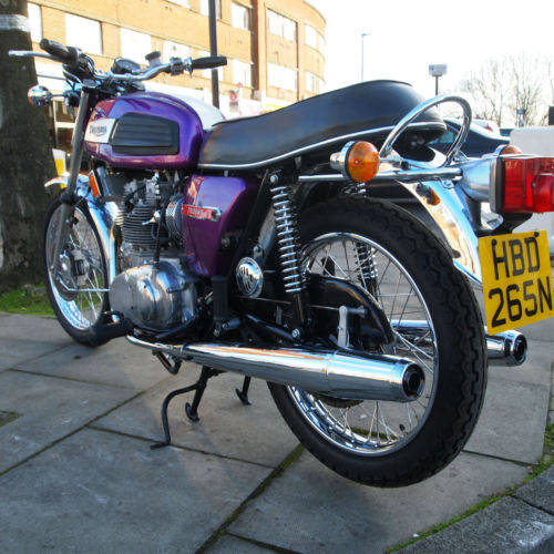 1975 T150V Trident Fully Restored 'Amazing' SOLD (picture 2 of 6)