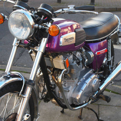 1975 T150V Trident Fully Restored 'Amazing' SOLD (picture 4 of 6)