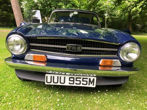 1973 TRIUMPH TR6 2 owners from new Perfect For Sale (picture 1 of 6)