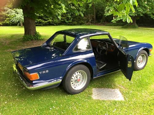1973 TRIUMPH TR6 2 owners from new Perfect For Sale (picture 2 of 6)