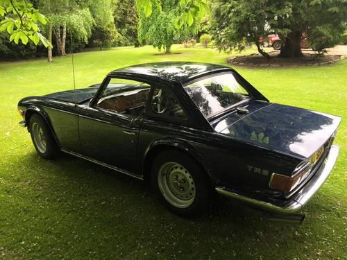 1973 TRIUMPH TR6 2 owners from new Perfect For Sale (picture 3 of 6)