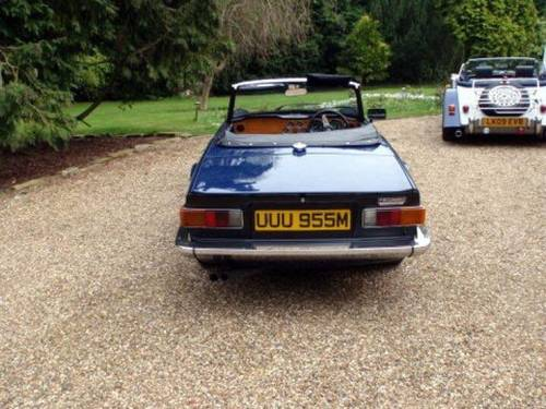 1973 TRIUMPH TR6 2 owners from new Perfect For Sale (picture 4 of 6)