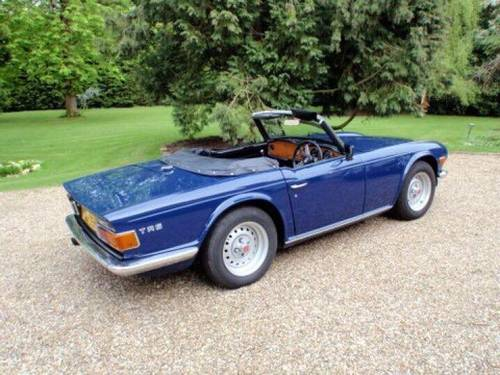 1973 TRIUMPH TR6 2 owners from new Perfect For Sale (picture 5 of 6)
