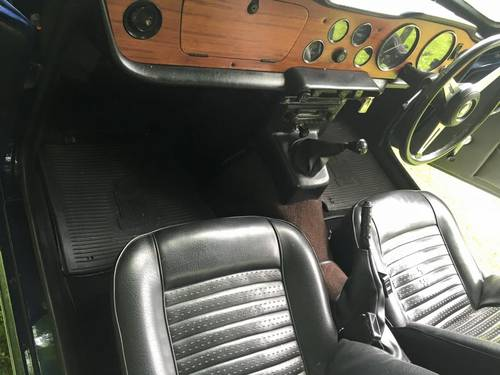 1973 TRIUMPH TR6 2 owners from new Perfect For Sale (picture 6 of 6)
