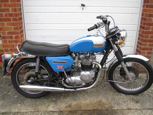 Triumph T140, 1978, 750cc For Sale (picture 1 of 6)