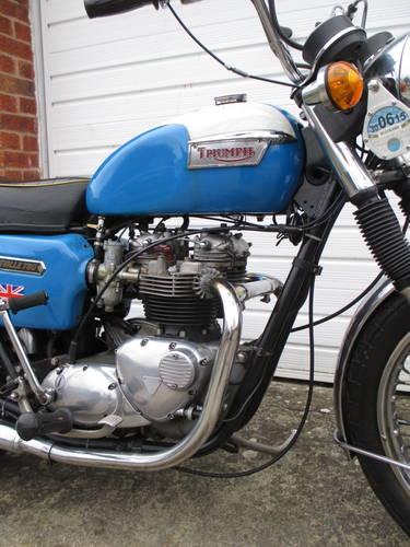 Triumph T140, 1978, 750cc For Sale (picture 3 of 6)