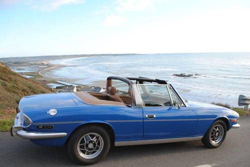 1977 Triumph Stag for hire in Jersey for  £150 per day For Hire (picture 1 of 6)