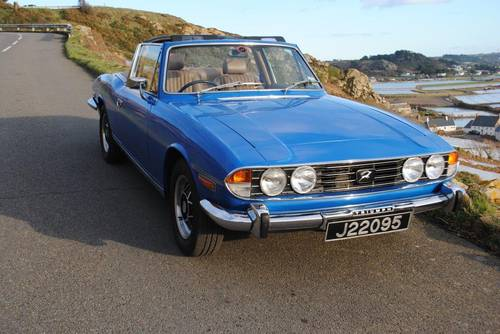 1977 Triumph Stag for hire in Jersey for  £150 per day For Hire (picture 2 of 6)