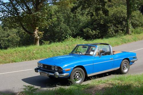 1977 Triumph Stag for hire in Jersey for  £150 per day For Hire (picture 3 of 6)