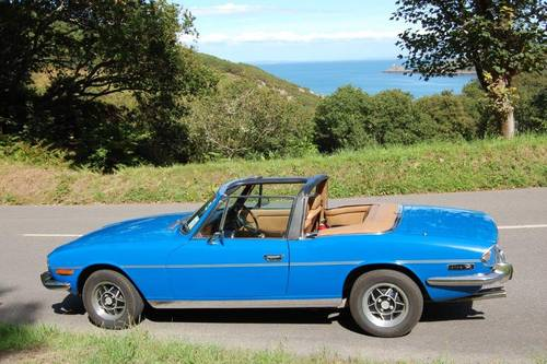 1977 Triumph Stag for hire in Jersey for  £150 per day For Hire (picture 4 of 6)