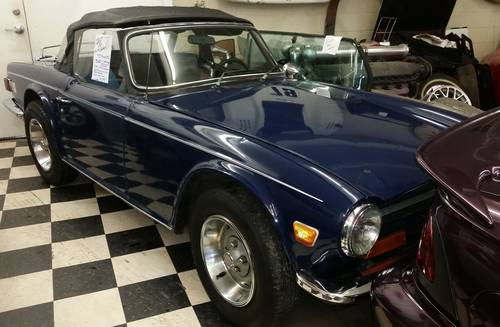 1973 Triumph TR6 – Terrific Condition Survivor. 31,000 miles For Sale (picture 3 of 6)