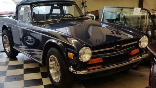 1973 Triumph TR6 – Terrific Condition Survivor. 31,000 miles For Sale (picture 5 of 6)