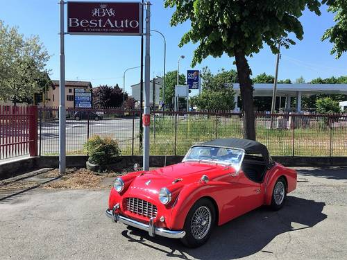 1958 Triumph TR3 A roadster For Sale (picture 1 of 6)