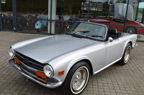 1973 Triumph TR6 2,5 Roadster SOLD (picture 1 of 6)