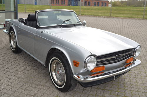 1973 Triumph TR6 2,5 Roadster SOLD (picture 2 of 6)