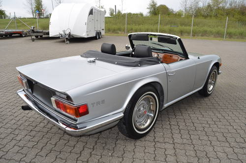 1973 Triumph TR6 2,5 Roadster SOLD (picture 3 of 6)