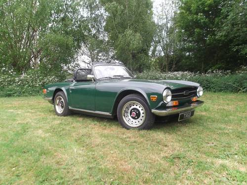 1972 TR6 For Sale SOLD (picture 1 of 6)