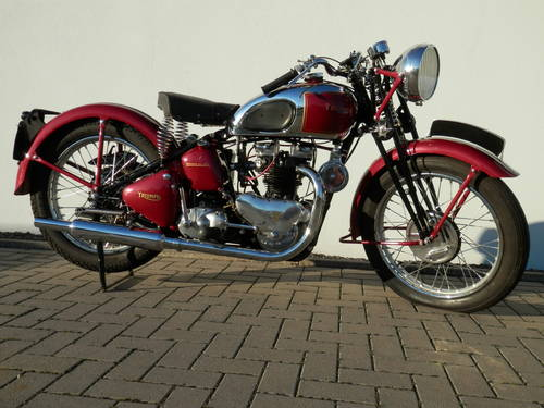 1947 Girder rigid Triumph 5T Speed Twin For Sale (picture 1 of 6)