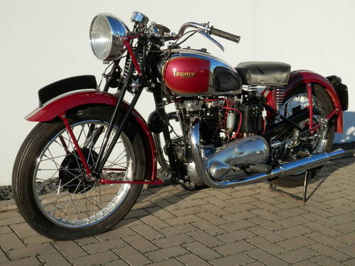1947 Girder rigid Triumph 5T Speed Twin For Sale (picture 2 of 6)