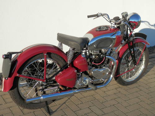 1947 Girder rigid Triumph 5T Speed Twin For Sale (picture 6 of 6)