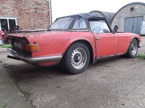 1972 150BHP TR6 PROJECT SOLD (picture 5 of 6)
