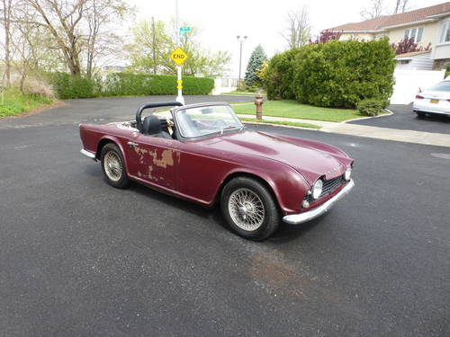 1963 Triumph TR4 Very Early Car A Driver - SOLD (picture 1 of 6)