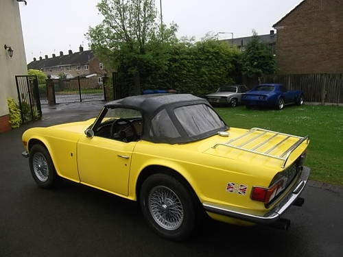 1969 Triumph TR6, Left Hand Drive. MOT`d and UK Registered  SOLD (picture 5 of 6)