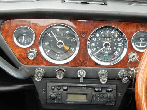 1967 Triumph Spitfire Mk3 with Overdrive + Hard-Top For Sale (picture 5 of 6)