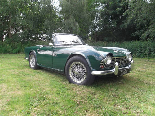 1965 TRIUMPH TR4 FOR SALE SOLD (picture 1 of 6)