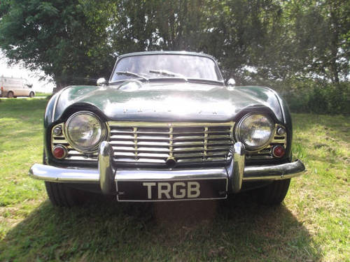 1965 TRIUMPH TR4 FOR SALE SOLD (picture 6 of 6)