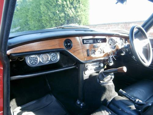 1970 Triumph GT6 MK2    ( simply stunning ) SOLD (picture 4 of 6)