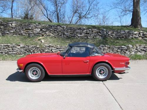 1970 Triumph TR6 Roadster For Sale (picture 1 of 6)