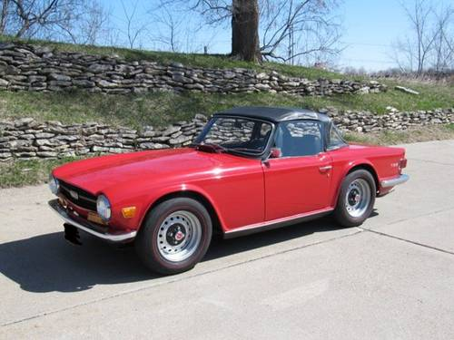 1970 Triumph TR6 Roadster For Sale (picture 2 of 6)
