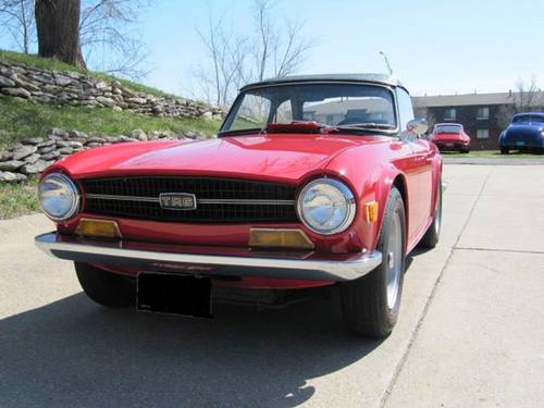 1970 Triumph TR6 Roadster For Sale (picture 3 of 6)