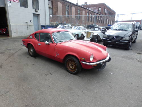 1973 Triumph GT6 Mk-III Completer Car For Restoration - SOLD (picture 1 of 6)