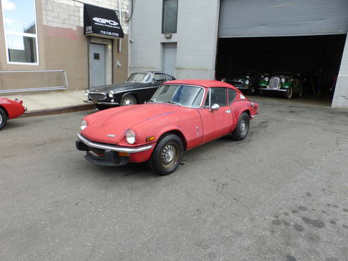 1973 Triumph GT6 Mk-III Completer Car For Restoration - SOLD (picture 3 of 6)