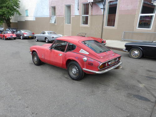 1973 Triumph GT6 Mk-III Completer Car For Restoration - SOLD (picture 4 of 6)