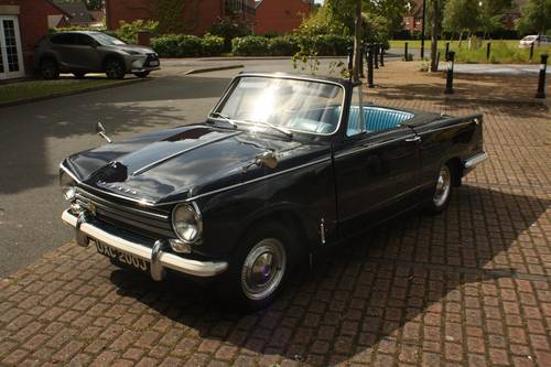 1971 Triumph Herald 13/60 Factory Convertible - Royal Blue SOLD (picture 1 of 6)