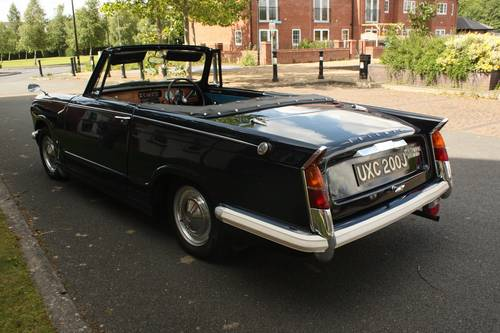 1971 Triumph Herald 13/60 Factory Convertible - Royal Blue SOLD (picture 2 of 6)