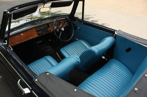 1971 Triumph Herald 13/60 Factory Convertible - Royal Blue SOLD (picture 4 of 6)