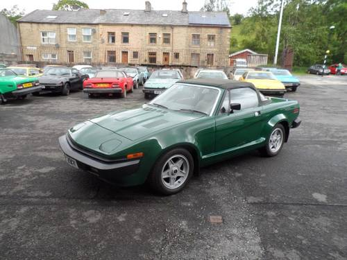 1982 Triumph Tr7 V8 Dhc Grinnall Sold Car And Classic