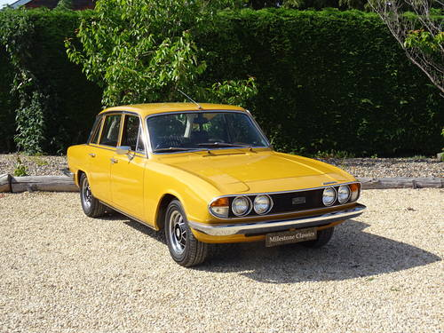 Triumph 2500 Mk2 Saloon – A Show Winning Car SOLD (picture 2 of 6)
