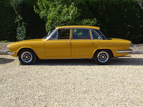 Triumph 2500 Mk2 Saloon – A Show Winning Car SOLD (picture 3 of 6)