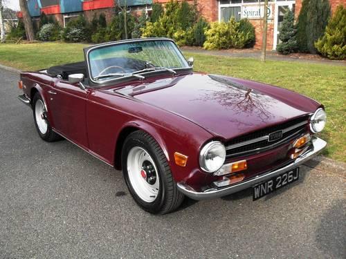 1969 Triumph TR6 For Sale (picture 1 of 4)