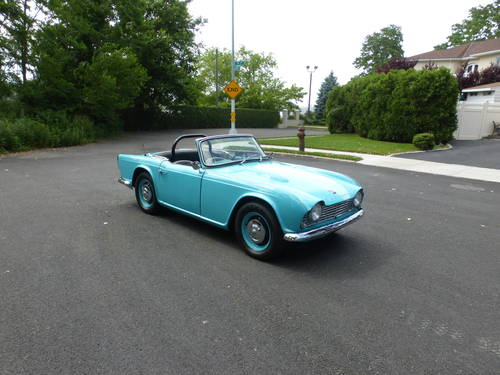 1963 Triumph TR4 Nicely Restored - SOLD (picture 1 of 6)