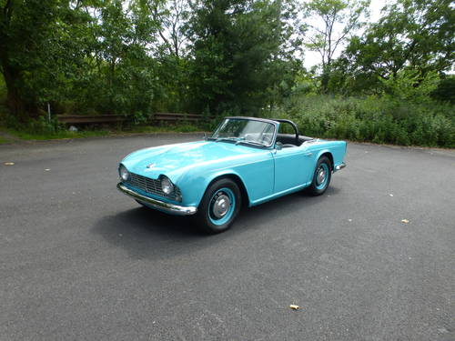 1963 Triumph TR4 Nicely Restored - SOLD (picture 3 of 6)