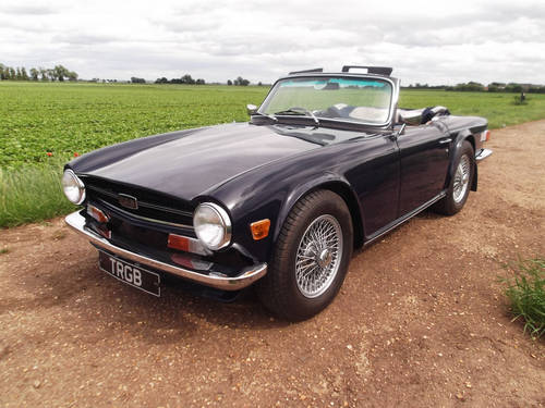 1969 TR6 For Sale SOLD (picture 1 of 6)