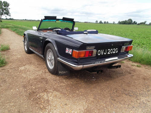 1969 TR6 For Sale SOLD (picture 5 of 6)