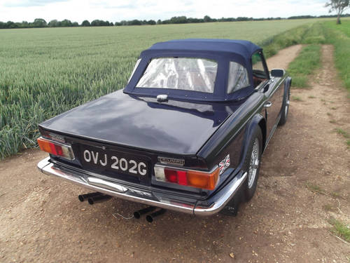 1969 TR6 For Sale SOLD (picture 6 of 6)